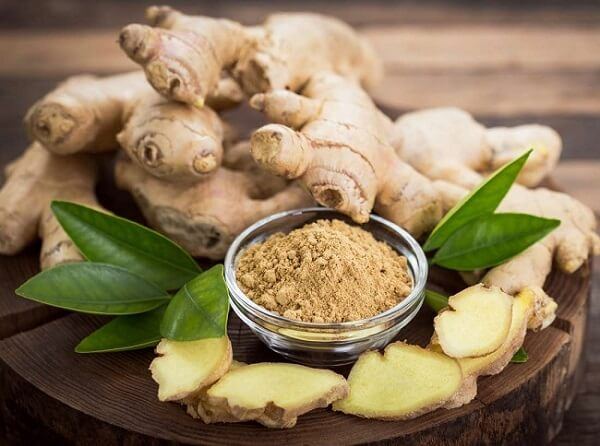 Ginger- Best Testosterone Boosting Foods