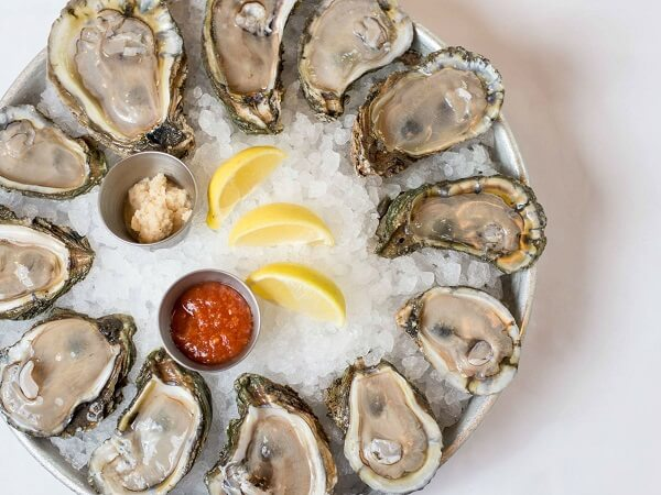 Oyster- Best Testosterone Boosting Foods