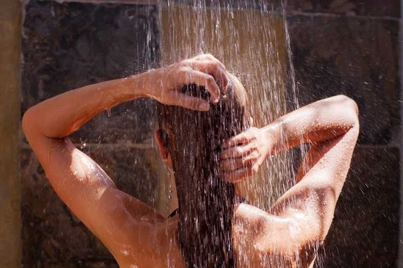 Take Hot Shower